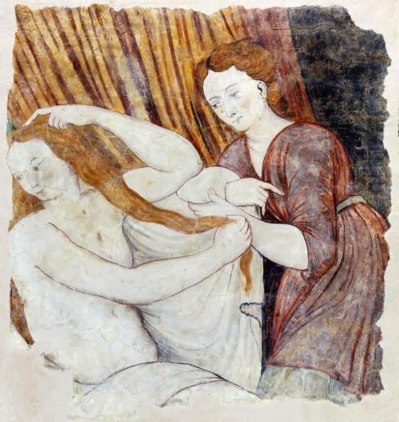 Lucas de Heere - Psyche at her Toilet