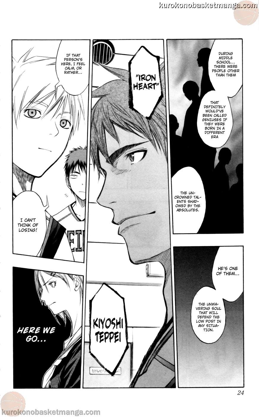 Kuroko no Basket Manga Chapter 81 - Image 22