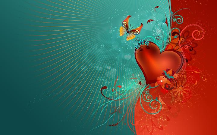 Bộ sưu tập hình nền lãng mạn cho desktop ngày Valentine - 1