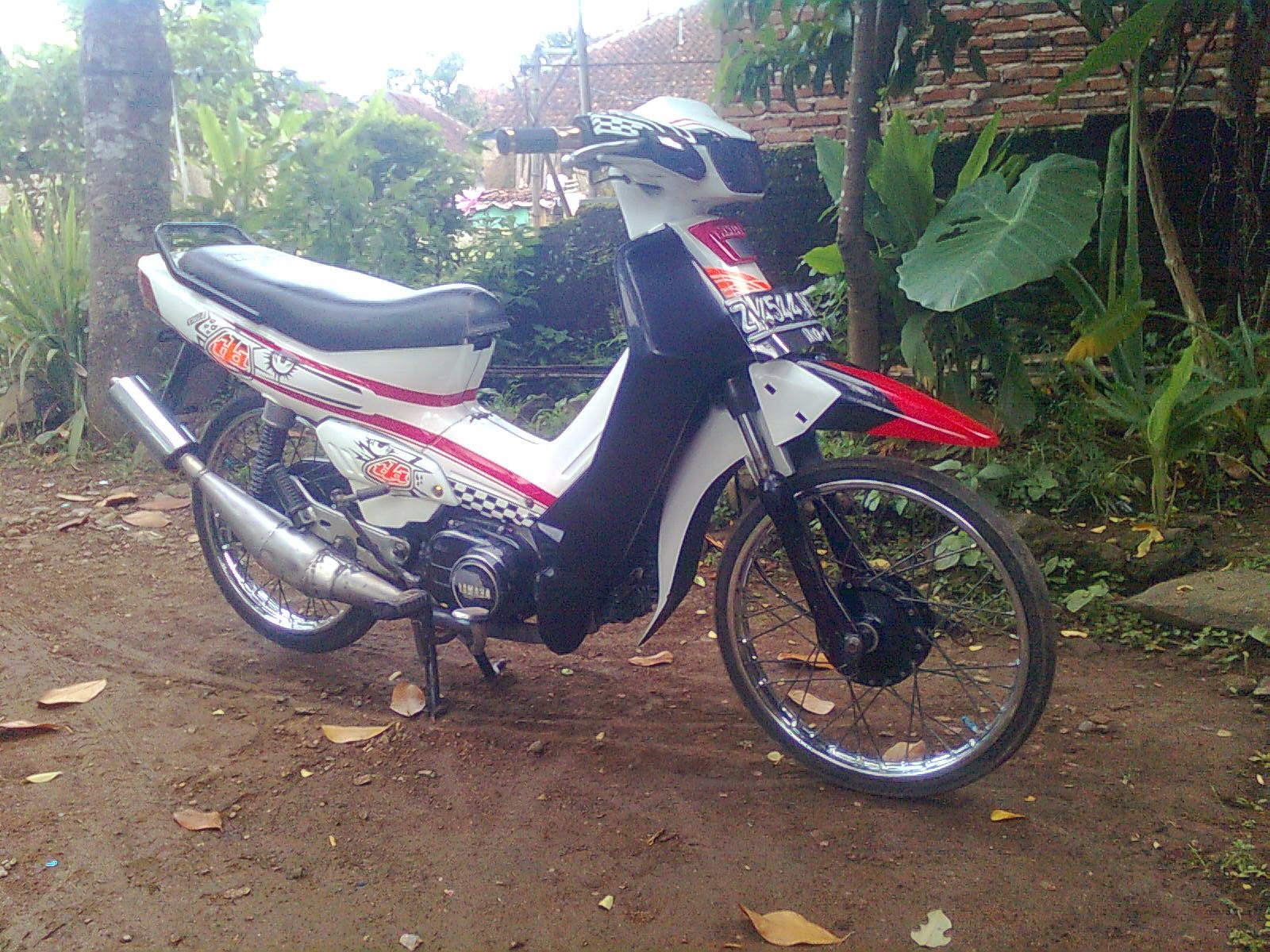 modifikasi yamaha vega r