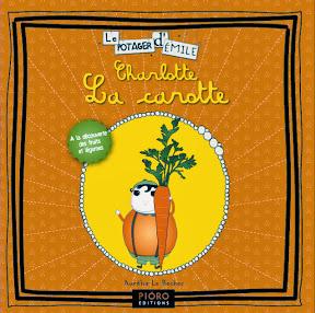 editions pioro potager émile livres enfants fruits et légumes