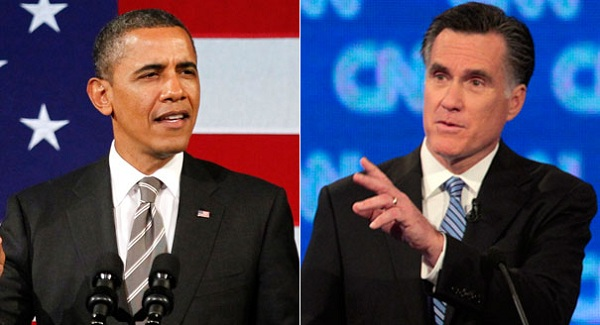 Obama+and+Romney President 2012: The Latest Key Battleground State Polls