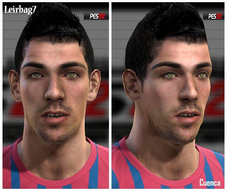Isaac Cuenca Face - PES 2012