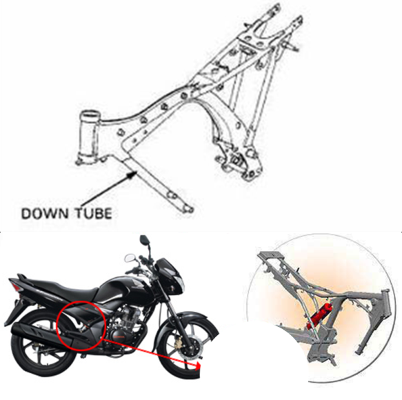 Types of Motorcycle Frames (on Indian Bikes)   Bike Chronicles of India