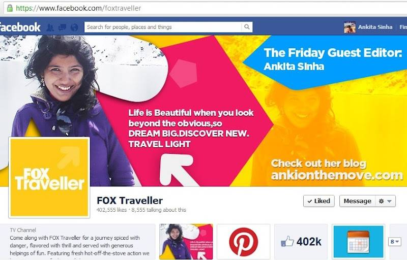 On Fox Traveller FB Page