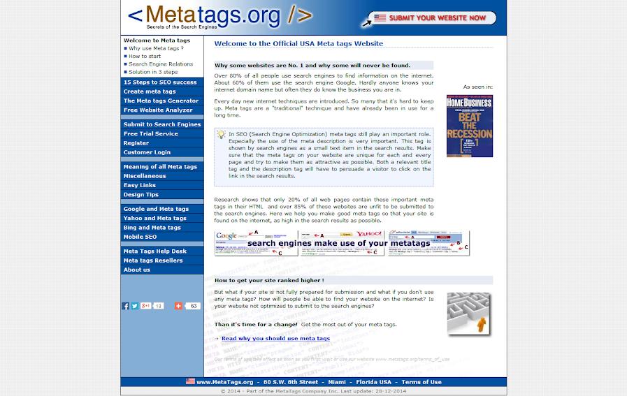 MetaTags.org