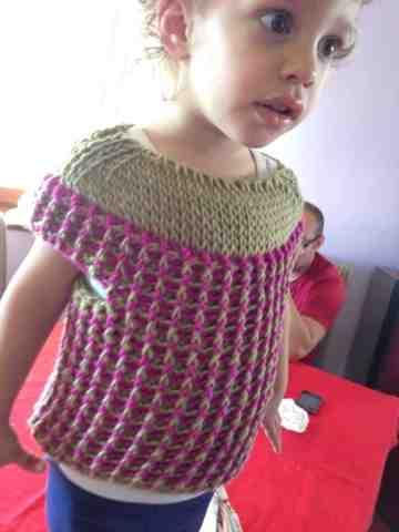 CrochetMaglione E Uncinetto Tunisino Mulberry Classico Ad Bimba L35S4RqAcj