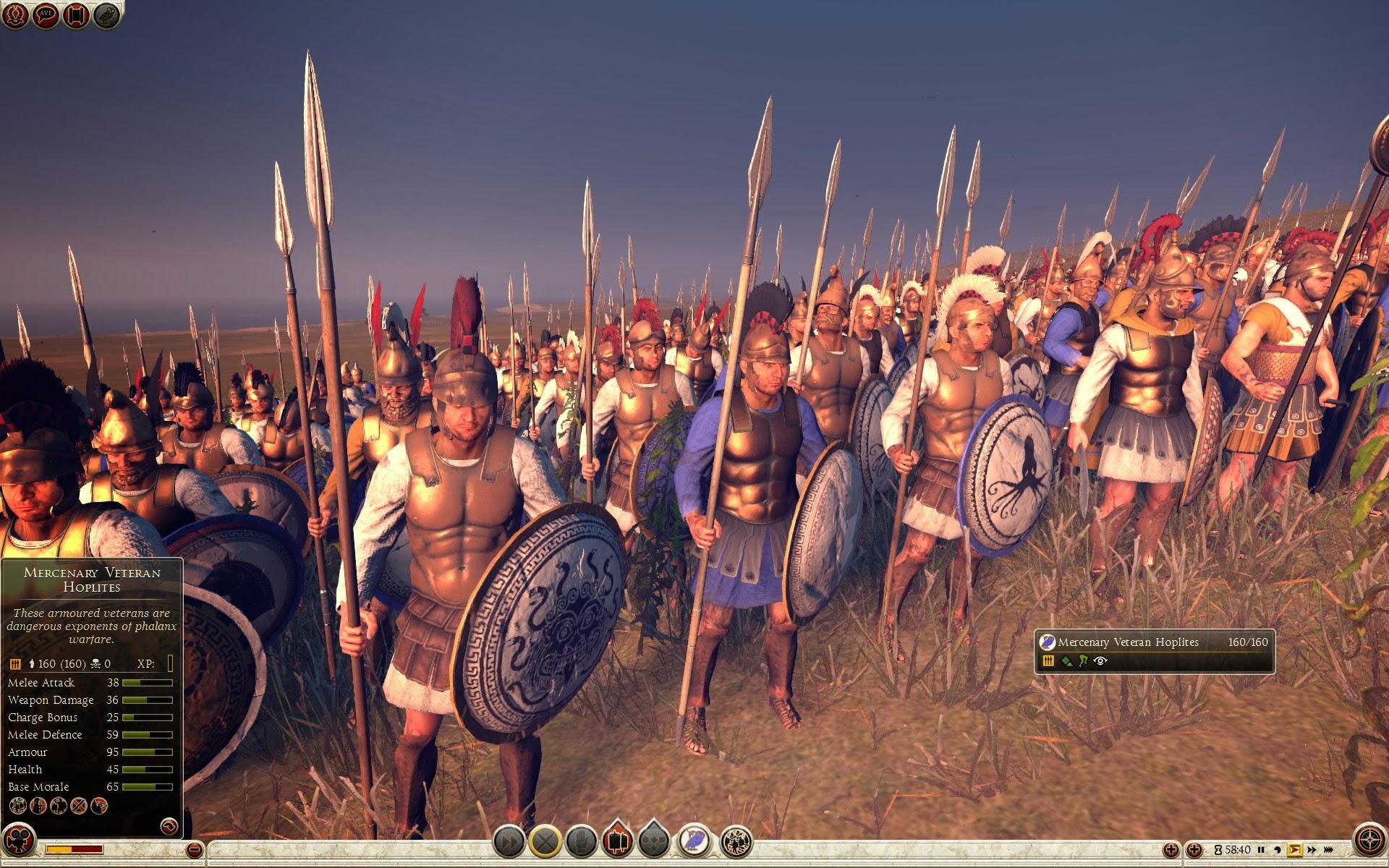 Mercenary Veteran Hoplites