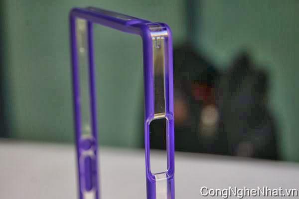 Ốp viền Bump Sony Xperia Z1 (SO-01F) hàng Nhật
