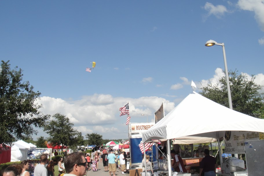 Skydive City at the Wesley Chapel Fall Festival