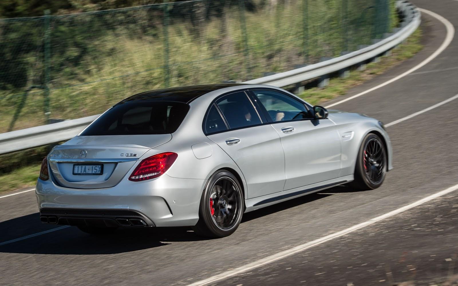 Mercedes-AMG C63 S 2016 là một chiếc sedan, nhưng chẳng khác nào siêu xe