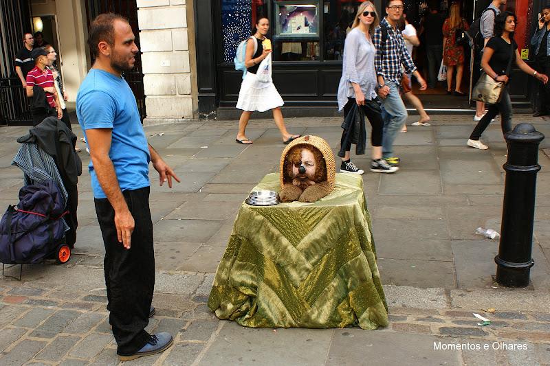 Londres, animação de rua, Covent Garden