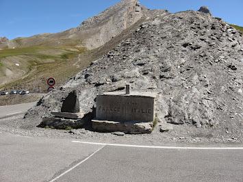 Au sommet, frontière franco-italienne