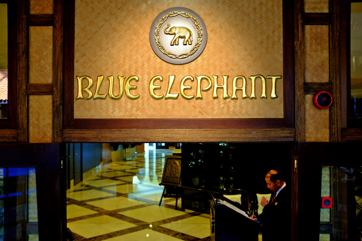 Blue Elephant in Dubai
