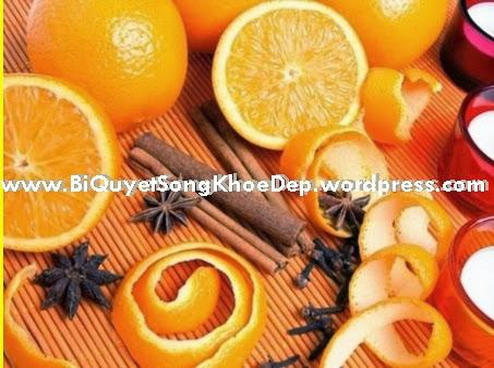 Trị mụn trứng cá, trị mụn đầu đen bằng vỏ cam được Bác Sỉ khuyên dùng