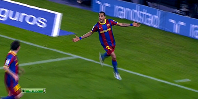 LFP-Week-29 : Barcelona 2 vs 1 Getafe 19-03-2011
