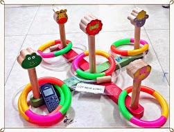 Đồ chơi gỗ,đồ chơi thông minh,đồ chơi ném vòng,ném vòng gỗ,nem vong,nem vong go.