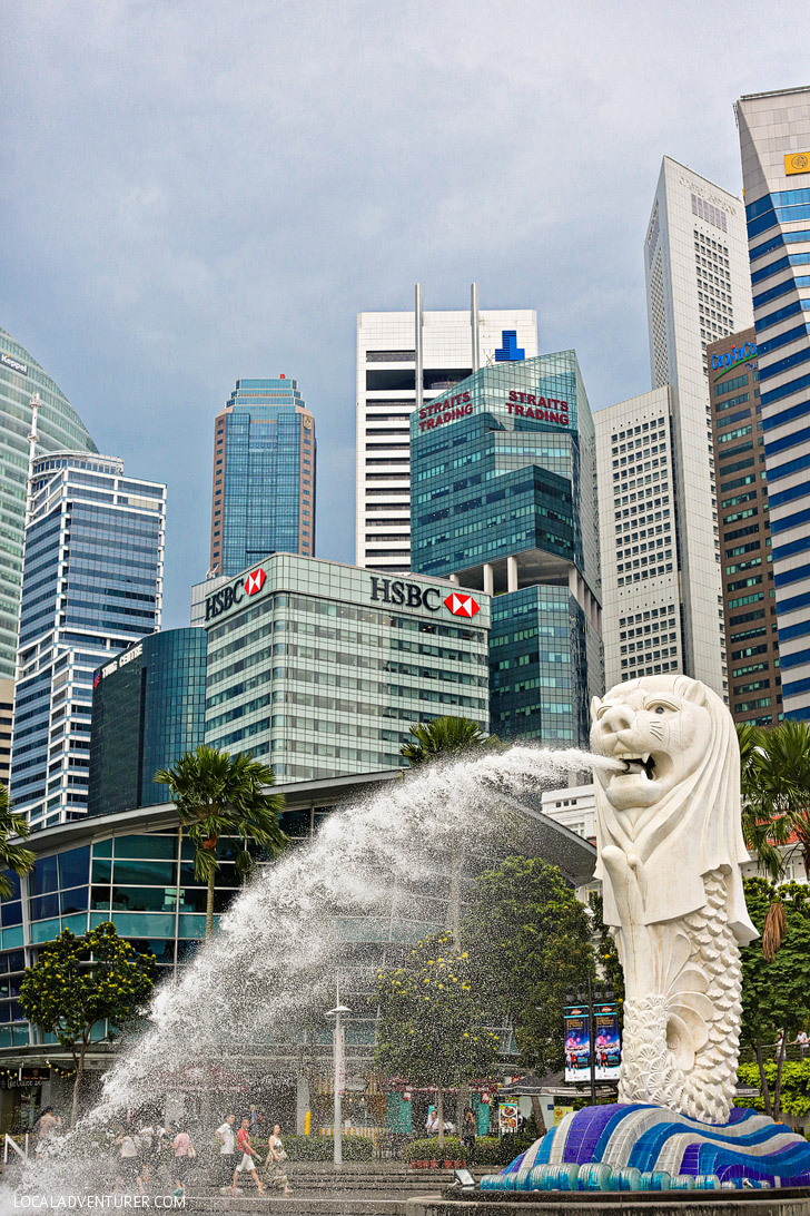 Merlion Singapore (21 Best Travel Destinations 2015).