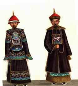 Китайский мужской костюм