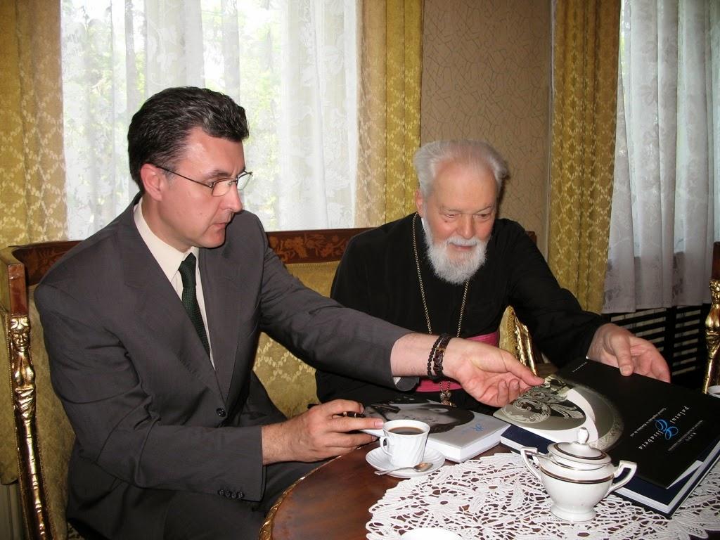 ASR Principele Radu si IPS Mitropolitul Nicolae al Banatului