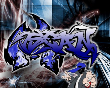 Interesting Collection Of Graffiti Fonts For Image