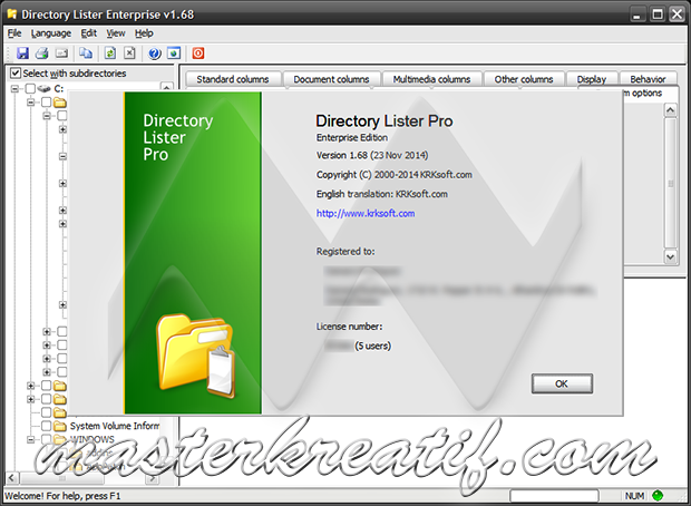 Directory Lister Pro 1.68