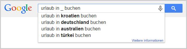 Google Suggest als Keyword-Tool