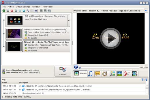 Hướng dẫn ghi đĩa DVD từ file AVI, MP4, MKV, FLV, WMV