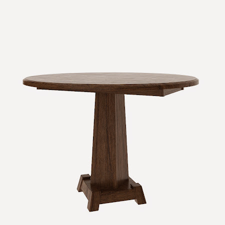 Round Turin Drop Leaf Table