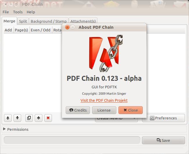 PDF Chain: Manipulasi file-file PDF