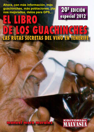 """La edición 20ª de """"El Libro de los guachinches"""" estará en librerías desde finales de mayo de 2012"""