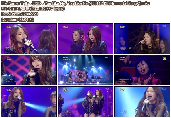 Download [Perf] EXID – You Like Me, You Like Me @ KBS