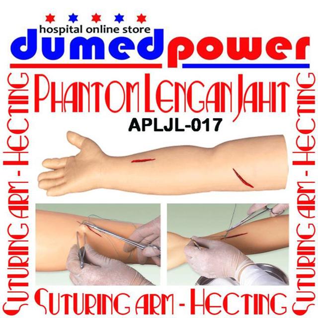 Phantom Lengan Jahit Luka - Suturing Arm Hecting