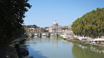River Tiber and St Peters