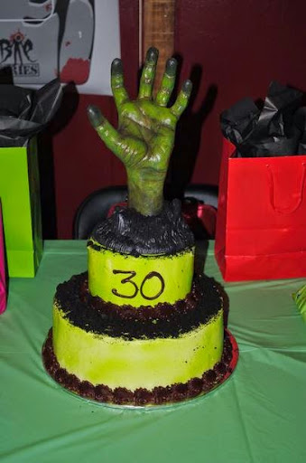 50 Best Zombie Birthday Cakes Ideas And Designs - iBirthdayCake