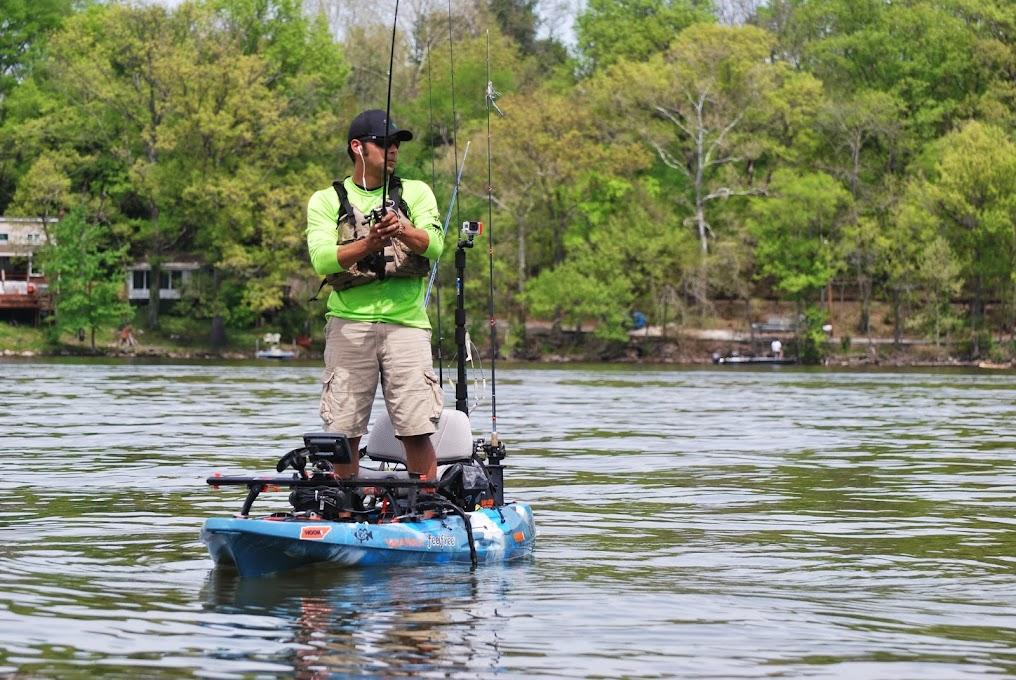 Kayak bass fishing gear for Bass fishing gear