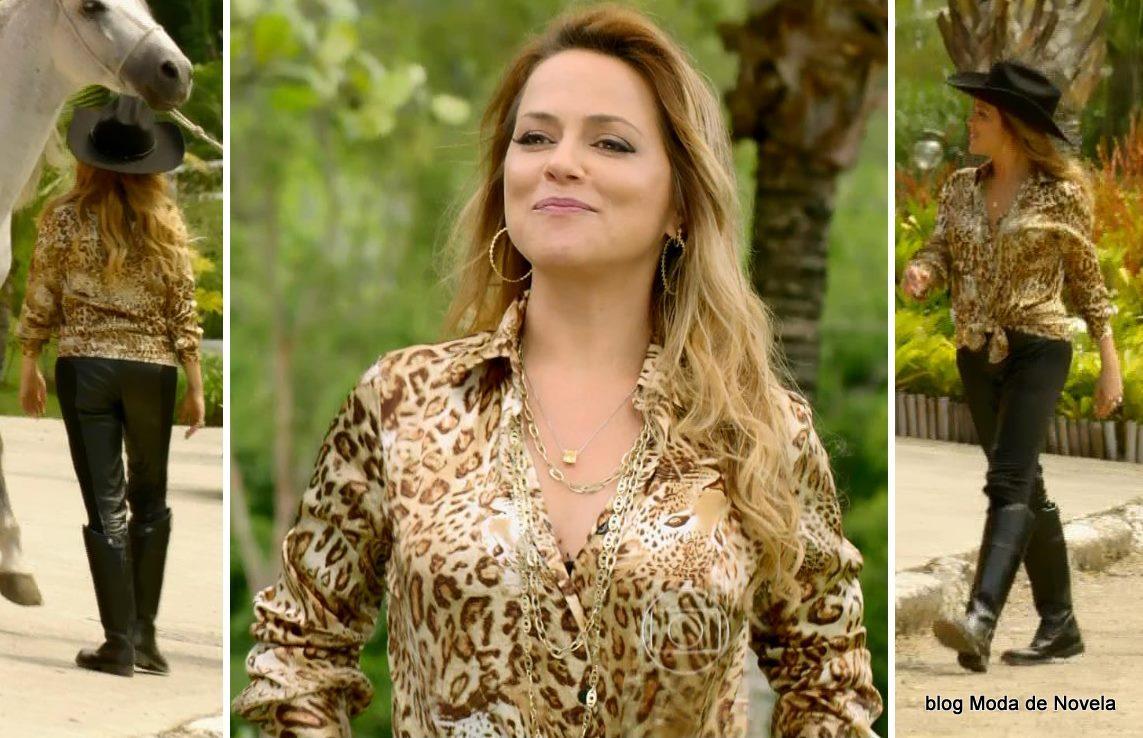 Moda da novela Em Família - look da Shirley