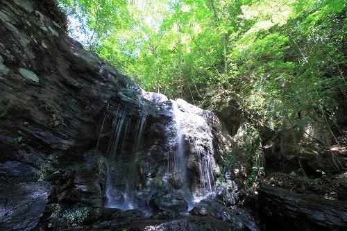 徳島名滝探訪 たびの尻滝のイメージ画像