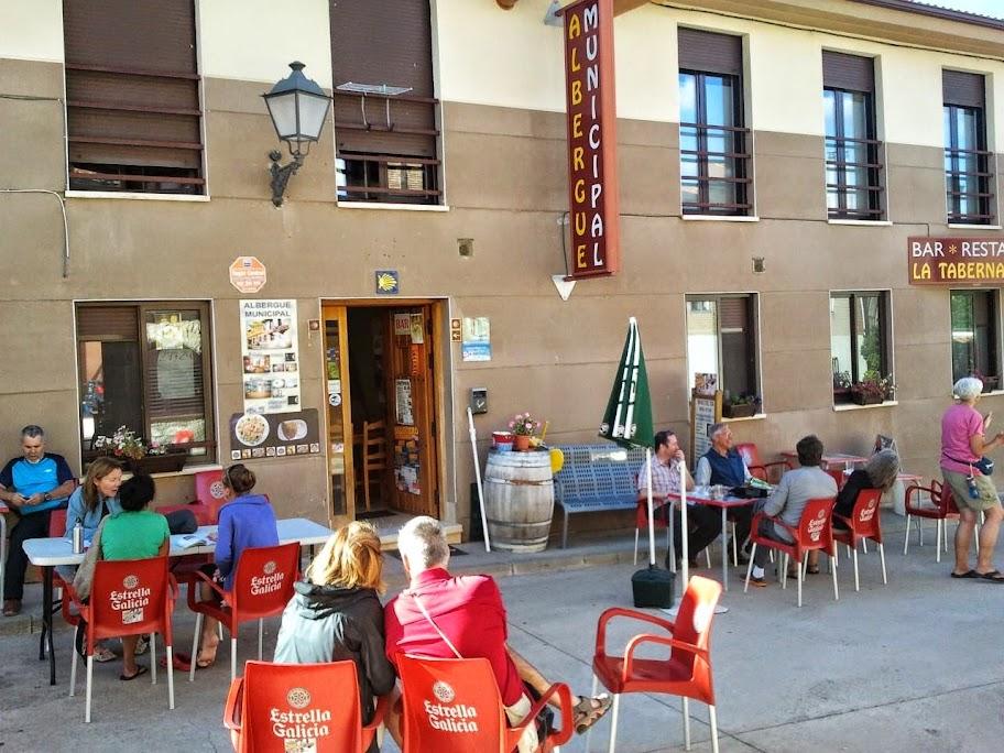 Albergue municipal La Taberna de Agés, Agés, Burgos, Camino de Santiago