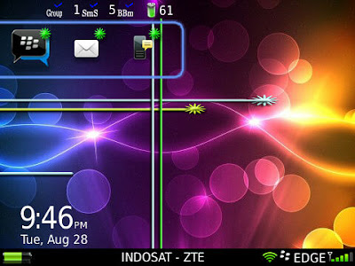 Theme Lasser IronDroid for 9300/9330 OS6