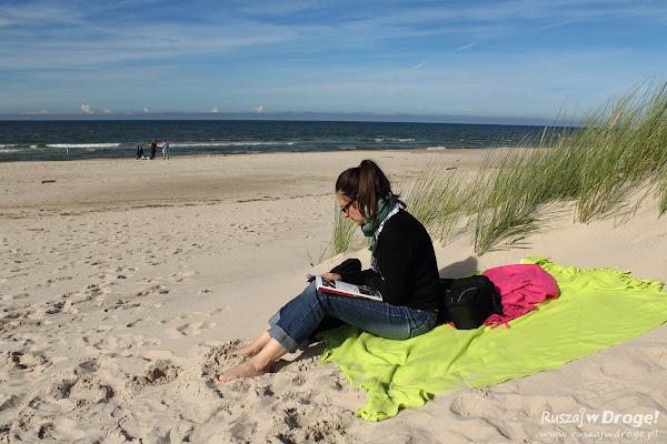 Lektura na plaży