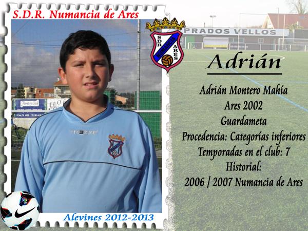 ADR Numancia de Ares. Adrián.