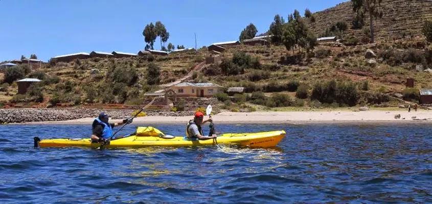 Kayak en TAQUILE | KAYAK EN EL LAGO TITICACA
