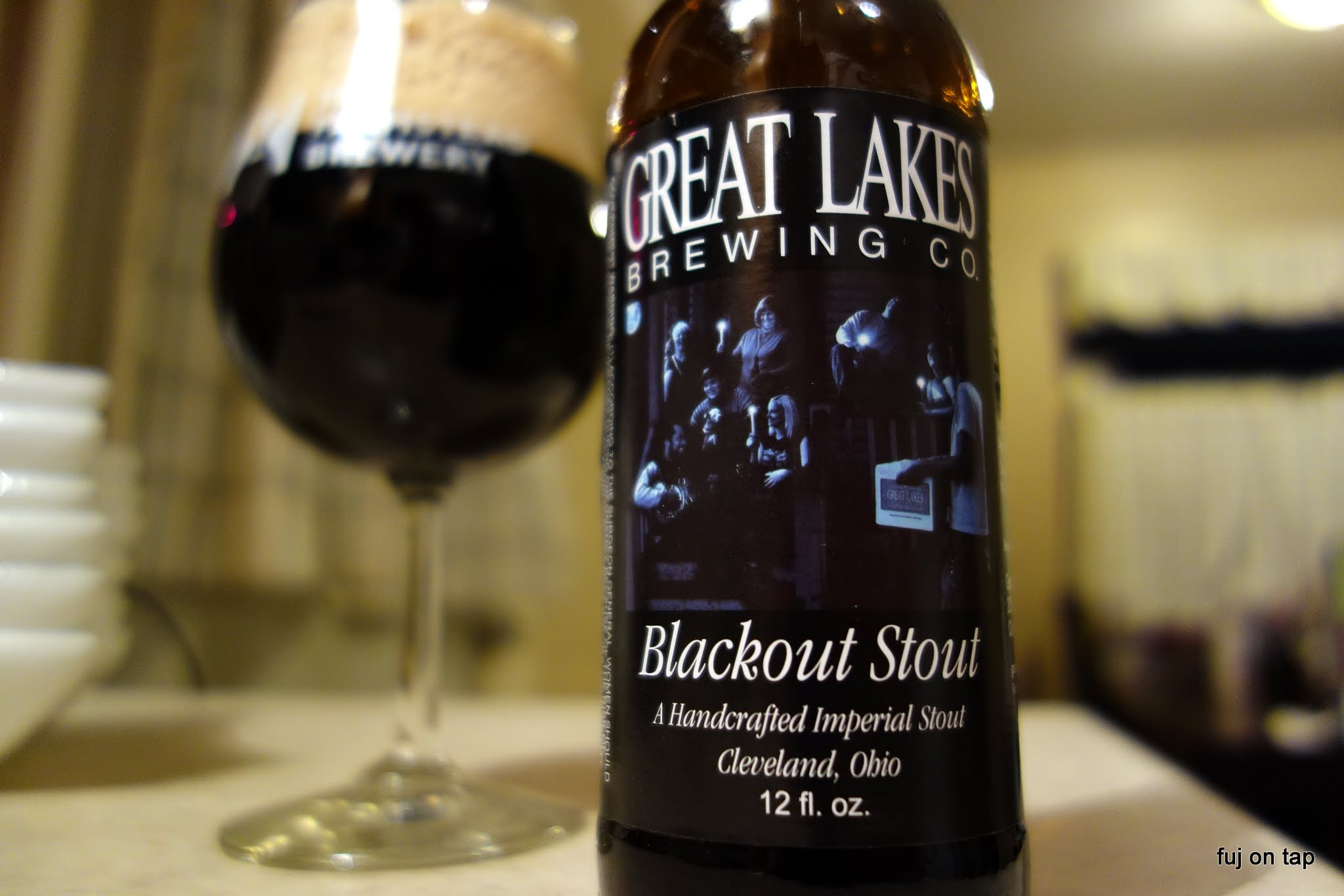Great Lakes Brewing Co. Blackout Stout