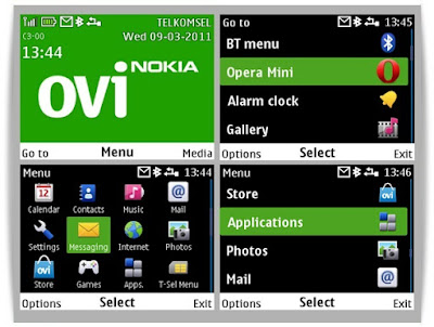 Ovi theme for Nokia C3-00 Asha 302