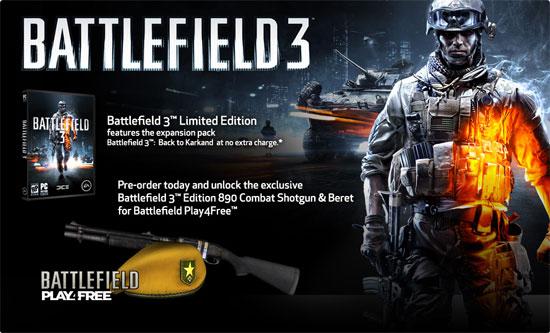 Watch Online Battlefield 3 Trailer