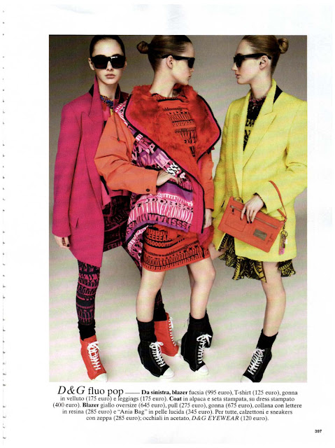 Look of the season- Glamour Italia