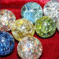 Como hacer canicas (bolitas) o gemas estrelladas o craqueladas