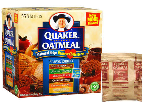 Add Instant Oatmeal Packet To Cake Mix