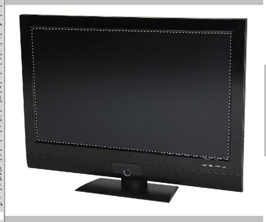 TV com tela selecionada